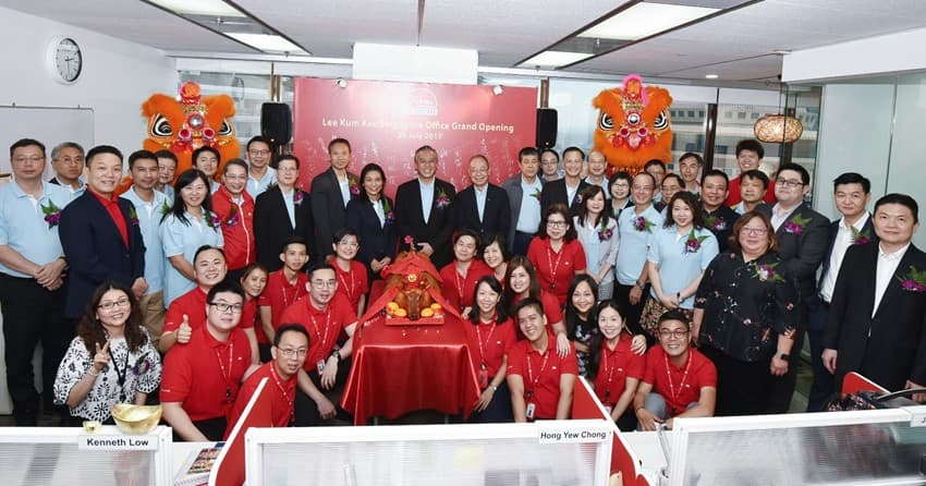 Opening of New Office in Singapore