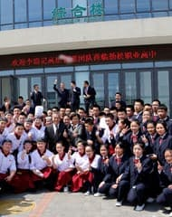 "Lee Kum Kee Management Visits ""Hope as Chef"" Students in Beijing"