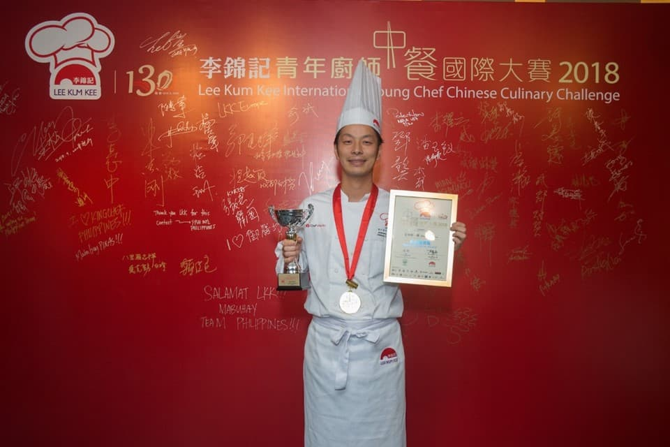 """Best Presentation Award"" went to Hikata Shoichiro (Japan) with the winning dish ""The Tales of Bamboo Princess"""