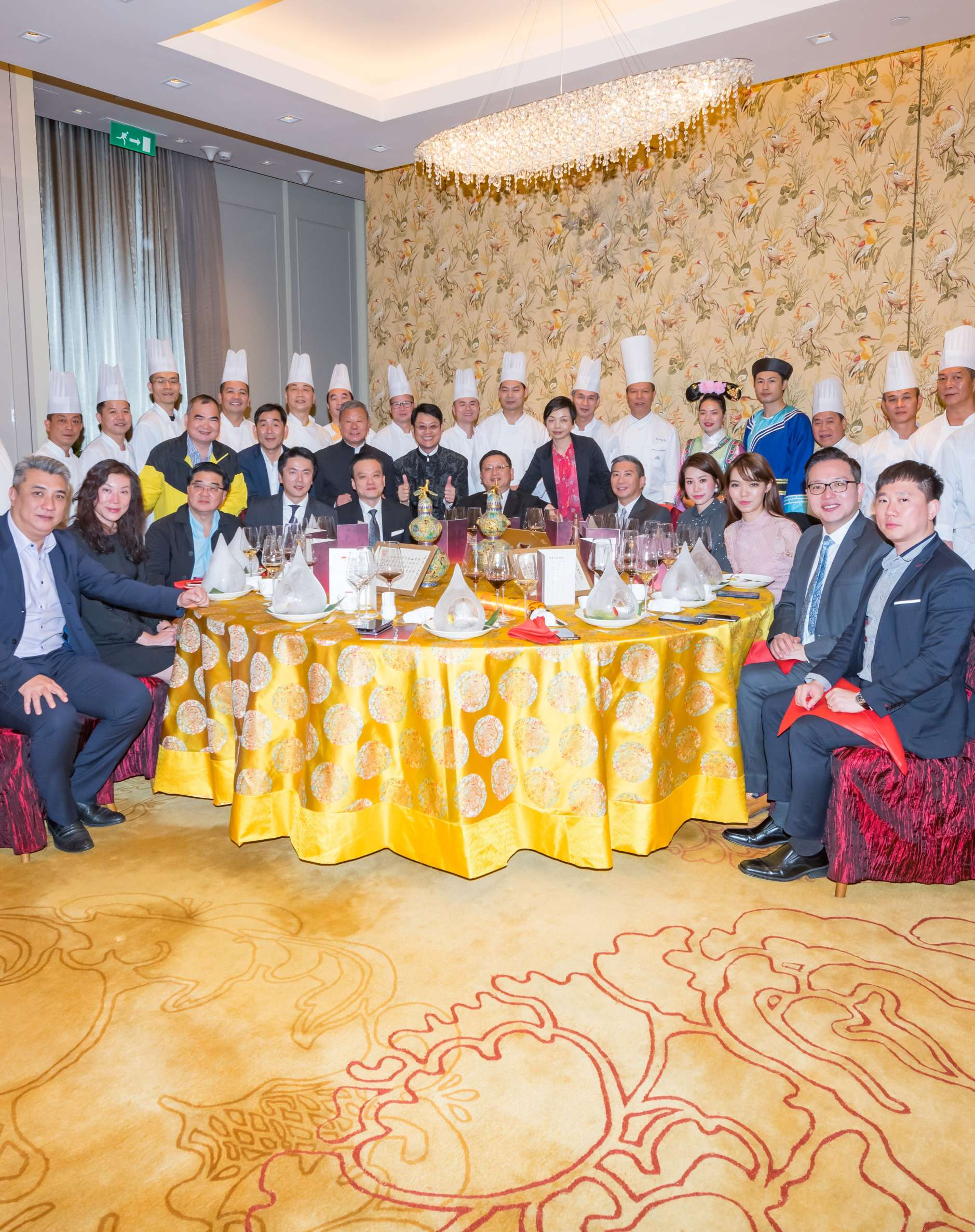 "Lee Kum Kee Co-organises ""2018 Macau Manchu Han Imperial Charity Feast"""